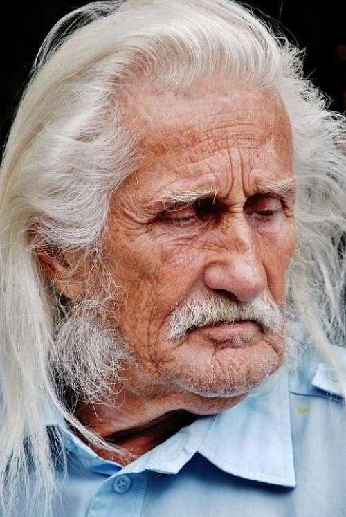 Man Person Face Gentleman White Faces Portrait