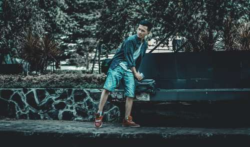 Man Style Urban Fashion Guy Person Portrait