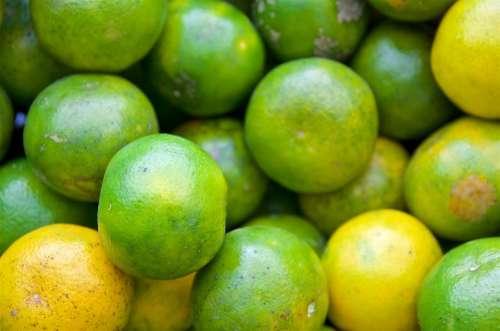 Mandarin Fruit Market Tangerine Healthy Summer