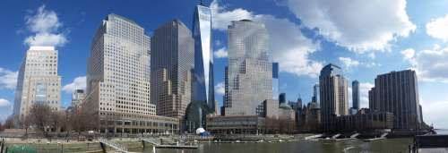 Manhattan Wtc Usa Architecture Nyc 1Wtc Memorial