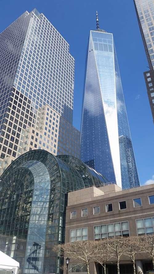 Manhattan Wtc Usa Architecture Nyc 1Wtc Memorial