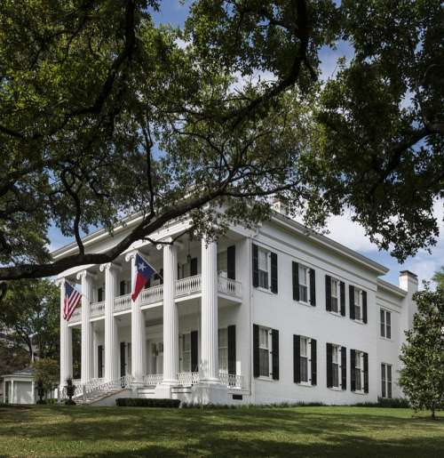 Mansion Governor Texas Architecture Home Building