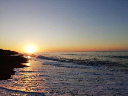 Mar Amanecer Sol Arena