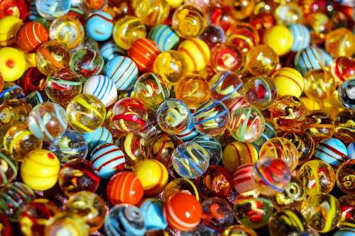 Marbles Glass Marbles Balls Round Colorful