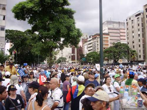 Marches Protests Venezuela