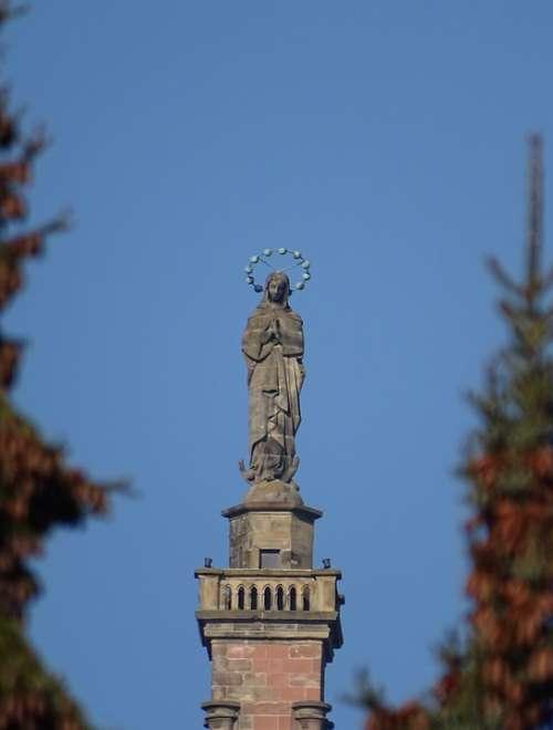 Maria Faith Religion Madonna Figure Catholic
