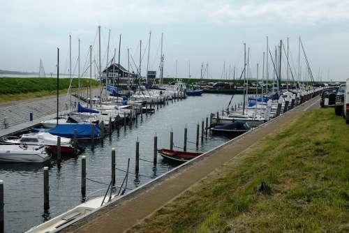 Marina Sailing Port Netherlands Masts Maritime