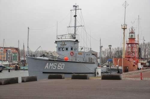 Marine Hellevoetsluis Ship Navy Ship Port