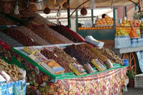 Marrakech Morocco Traditional Tourism Market