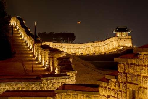 Mars Suwon Hwaseong Castle High