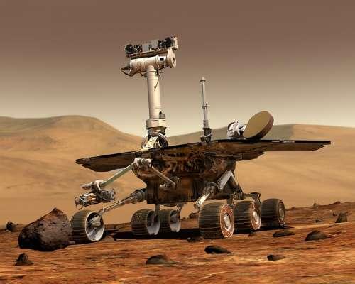 Mars Mars Rover Space Travel Robot Martian Surface