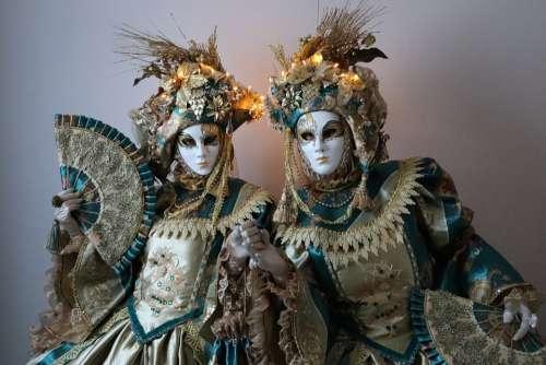 Mask Costume Carnival Masquerade Venice Fantasy