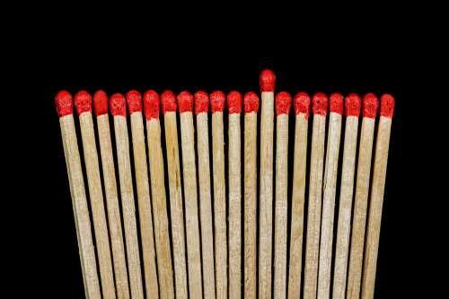 Match Lighter Matches Sticks Match Head Wood