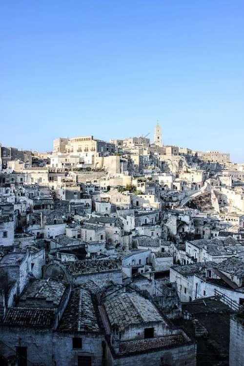 Matera Basilicata Old Village Sassi Tourism