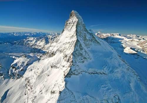 Matterhorn Mountain Berggipifel Mountain Landscape