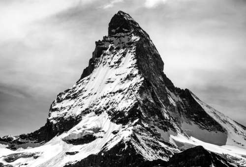 Matterhorn Switzerland Mountain Alps Nature Europe