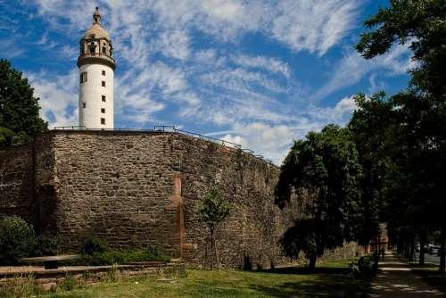 Maximum Tower Frankfurt Castle Wall Fortress