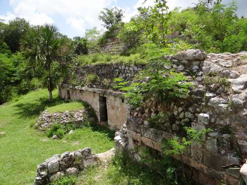 Maya Mayan Ancient Mexico Culture Stone Yucatan
