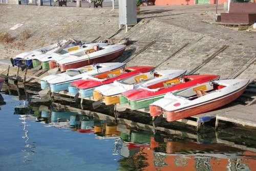 Meersburg Boats Water Lake Lake Constance Germany
