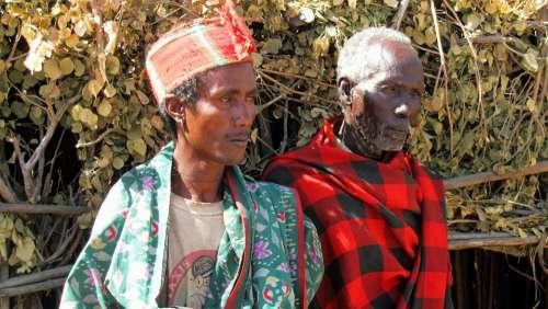 Men Arbore Tribe Ethiopia