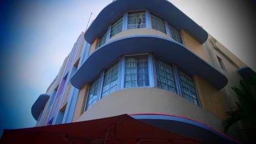 Miami Art Decoration Usa Architecture