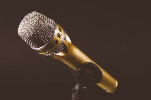 Microphone Mic Mike Voice Audio Music Sound