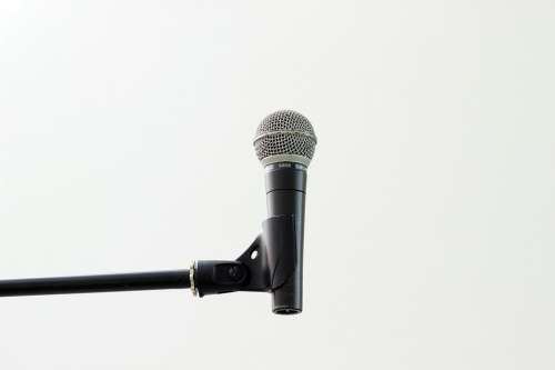 Microphone Holder Macro Music Musician Sound