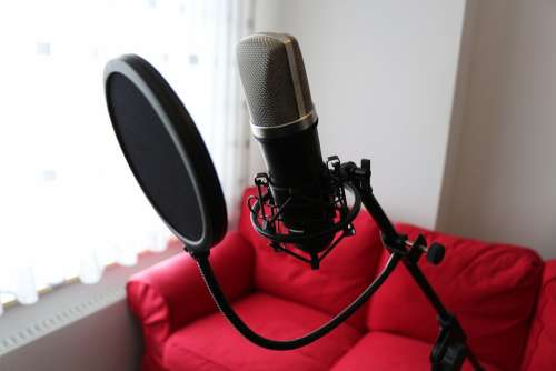 Microphone Condenser Microphone Popp Protection