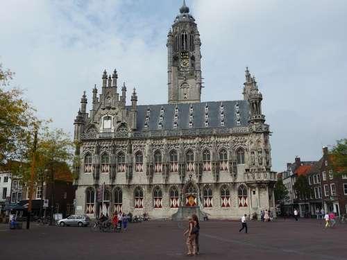 Middelburg Town Hall Market