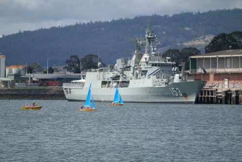 Military Ship Hmas Stuart Australian Navy Navy War