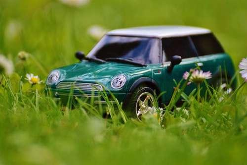 Mini Cooper Auto Model Vehicle Mini Green