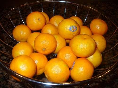 Miniature Oranges Orange Fruit Small Food Produce