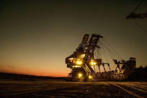 Mining Excavator Mining Heavy Machinery