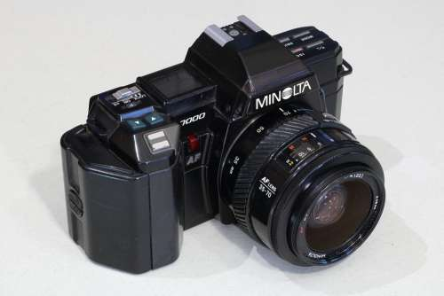 Minolta 7000 Slr Reflex Camera Autofocus Eighties
