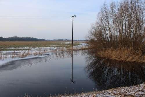 Mirroring Lake Water Mood Nature Water Reflection