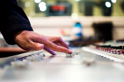 Mixing Desk Mixer Slide Control Slider Disc Jockey