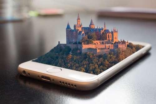 Mobile Phone Smartphone 3D Manipulation Screen App