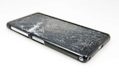 Mobile Phone Damage Fracture Display Smartphone