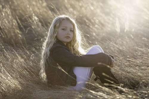 Model Little Girl Child Portrait Childhood Girl