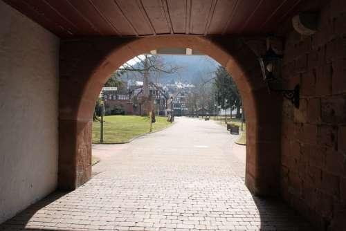 Monastery Input Goal Historically Round Arch