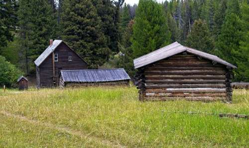 Montana'S Garnet Ghost Town Abandoned Old Ghost