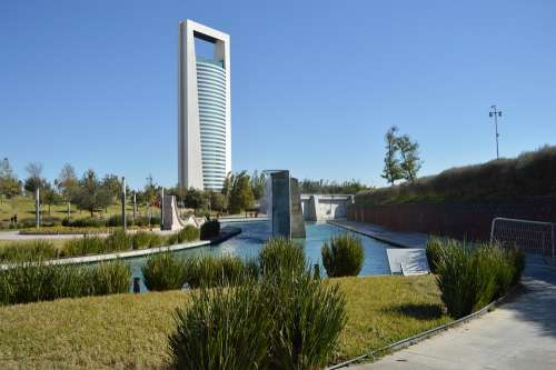 Monterrey Santa Lucia Park Building