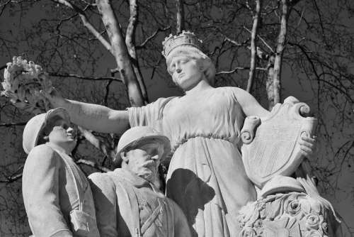 Monument Stone Monuments Statue Photos Black White