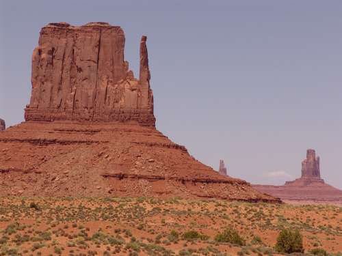 Monument Valley Rock Mountain Places Of Interest