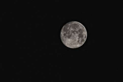 Moon Super Moon Space Science Sky Celestial Body
