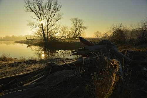 Morgenstimmung Morning Sunrise Landscape