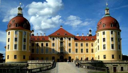 Moritz Castle Architecture Castle Saxony