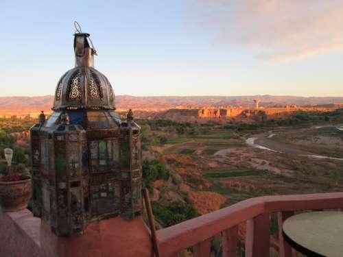 Morocco Lantern Desert