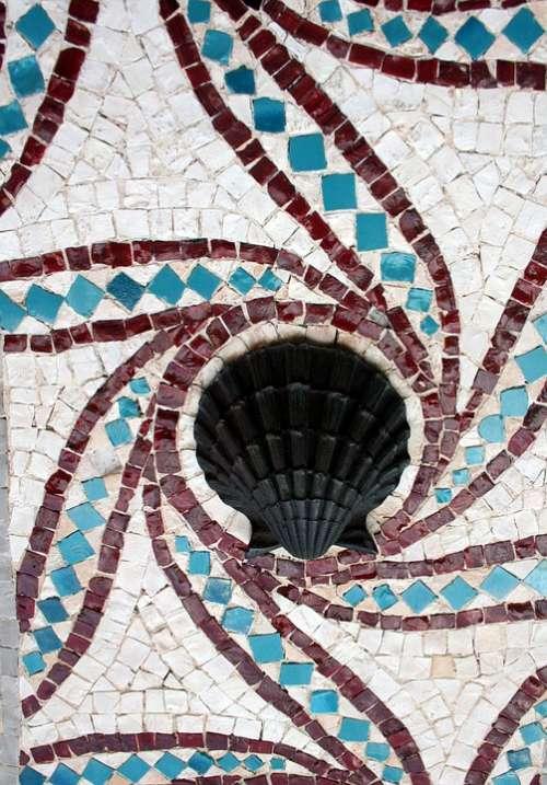 Mosaic Mosaic Tile Sea Shell Flagler College