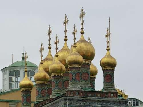 Moscow Russia Capital Kremlin Historically